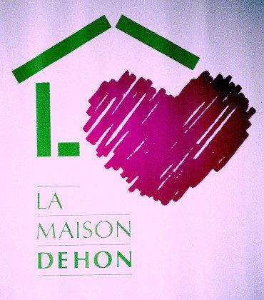 The poster for Maison Dehon, the former hospice for those with HIV/AIDS