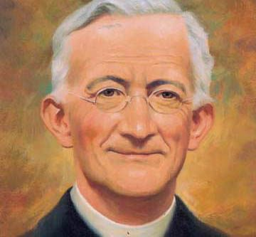 Fr. Leo John Dehon, founder of the Priests of the Sacred Heart, was born on March 14, 1843