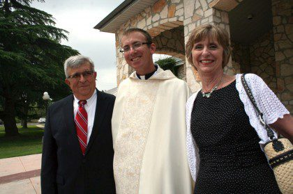 Fr. Greg with his parents