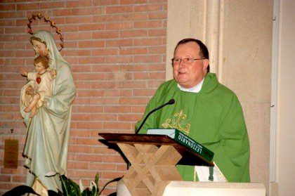Fr. Leo Heck, the new superior of the International College Community in Rome