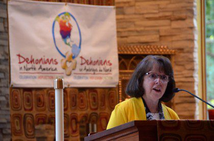 Sr. Cathy Bertrand, SSND, served as facilitator of the SCJs' North American Continental Conference in 2013. She will soon be working with SCJs at the US Provincial Chapter. Religious sisters have collaborated with the Priests of the Sacred Heart since the congregation's earliest days.