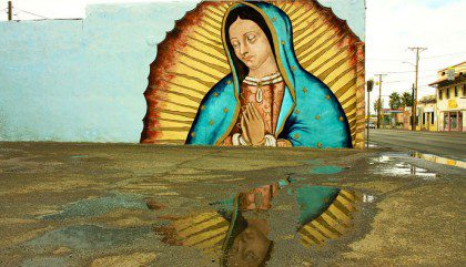 Image of Our Lady of Guadalupe by Cynthia Carol Almodavar