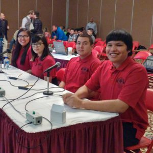 Students from St. Joe's compete in the Lakota Invitational