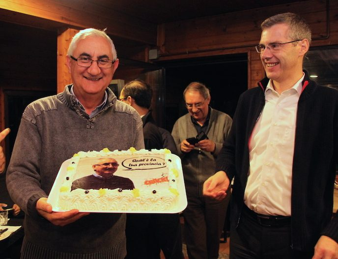Fr. Aquilino and Fr. Heiner