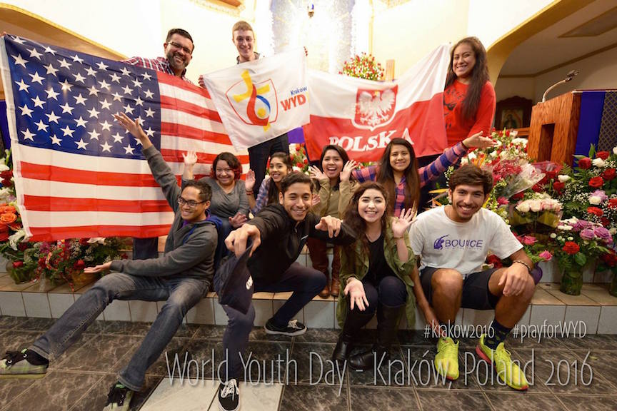 The youth ministry program at Our Lady of Guadalupe, Houston, is teaming up with the US Province to organize a group to take part in this year's World Youth Day in Poland. Young people from the United States will be joining Dehonian youth from around the world at the gathering.