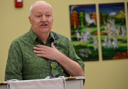 Fr. Peter McKenna of the North American Immigration Committee