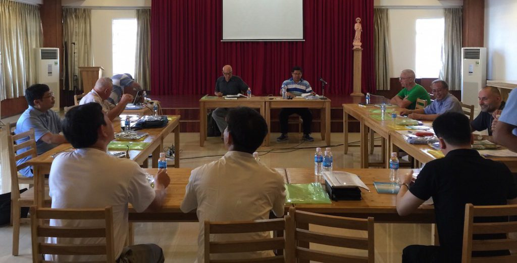 Fr. Francis took part in the Vietnamese District Assembly earlier this year.