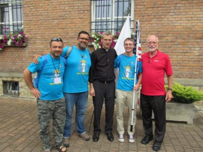 A few of our SCJs from the US Province with Fr. Heiner Wilmer, superior general